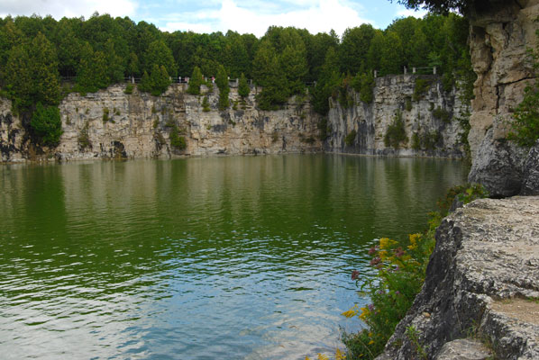 Elora Quarry Conservation Area Toronto Area Outings